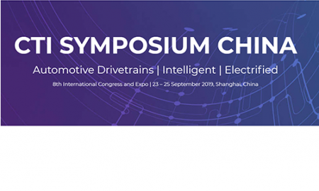 CTI Symposium 2019, Shanghai, China