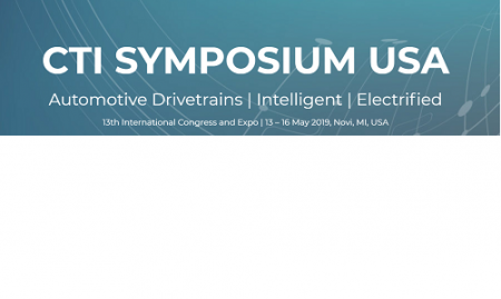 CTI Symposium USA 2019, Novi, Michigan, ZDA