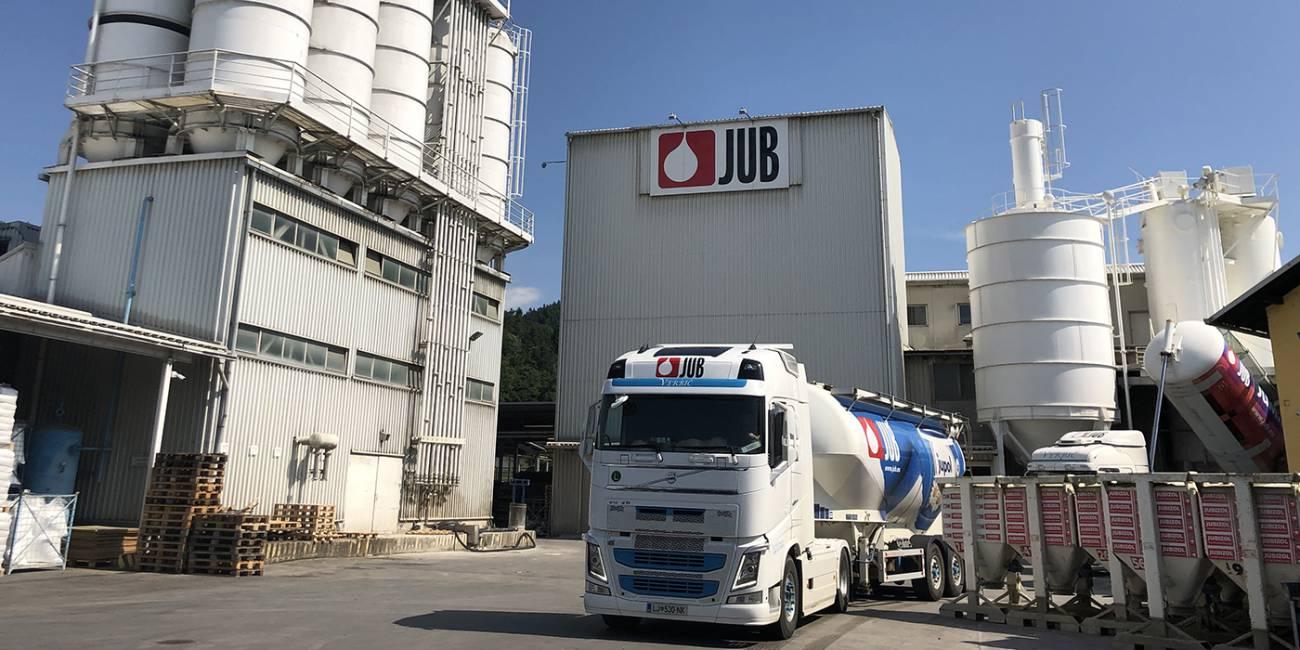 JUB modernized the production of powder raw materials