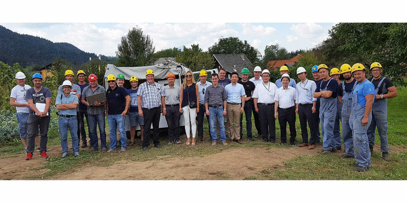 Successful completion of the first stage of the NEDO project