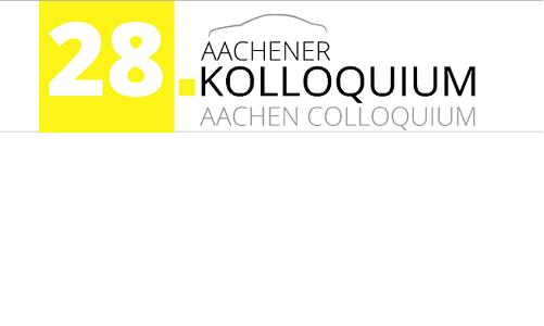 Aachener Kolloquium 2019, Aachen, Nemčija