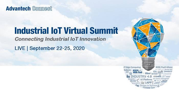 Vabljeni na Advantech Industrial IoT Virtual Summit, 22. – 25. September 2020