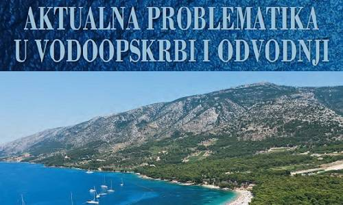 Current issues in water supply and sewage, Brač, Croatia