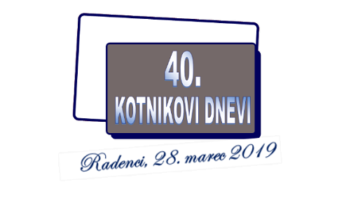 Kotnikovi dnevi 2019, Radenci, Slovenija