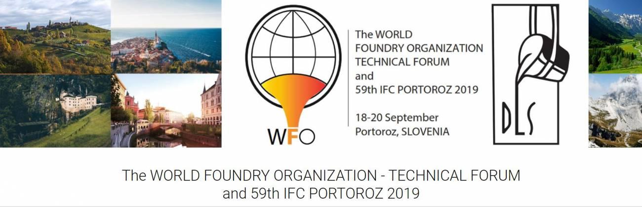 WFO - Technical Forum in 59. IFC Portorož 2019