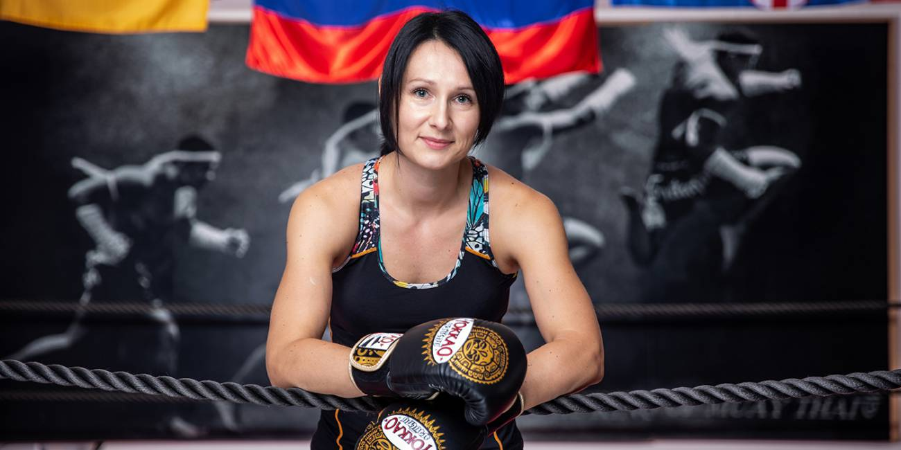Mateja, investment manager in the world of Thai boxing