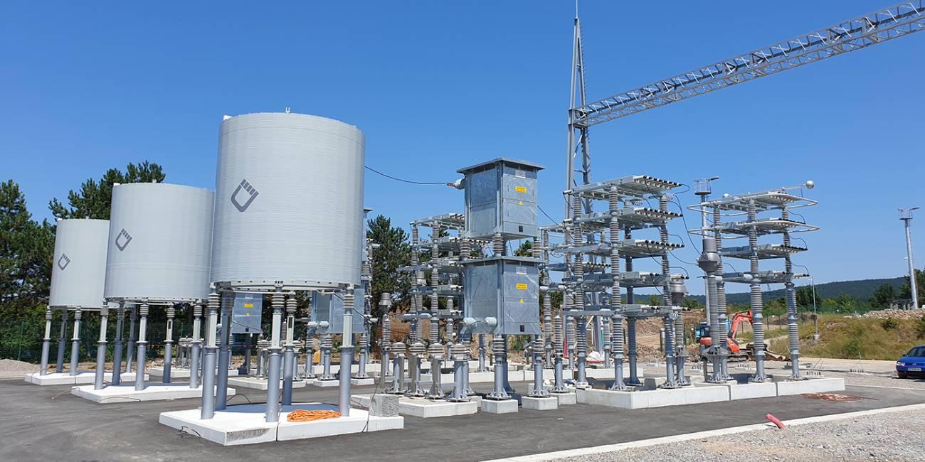 RTP 400/220-220/110/35 kV Divača - MSCDN