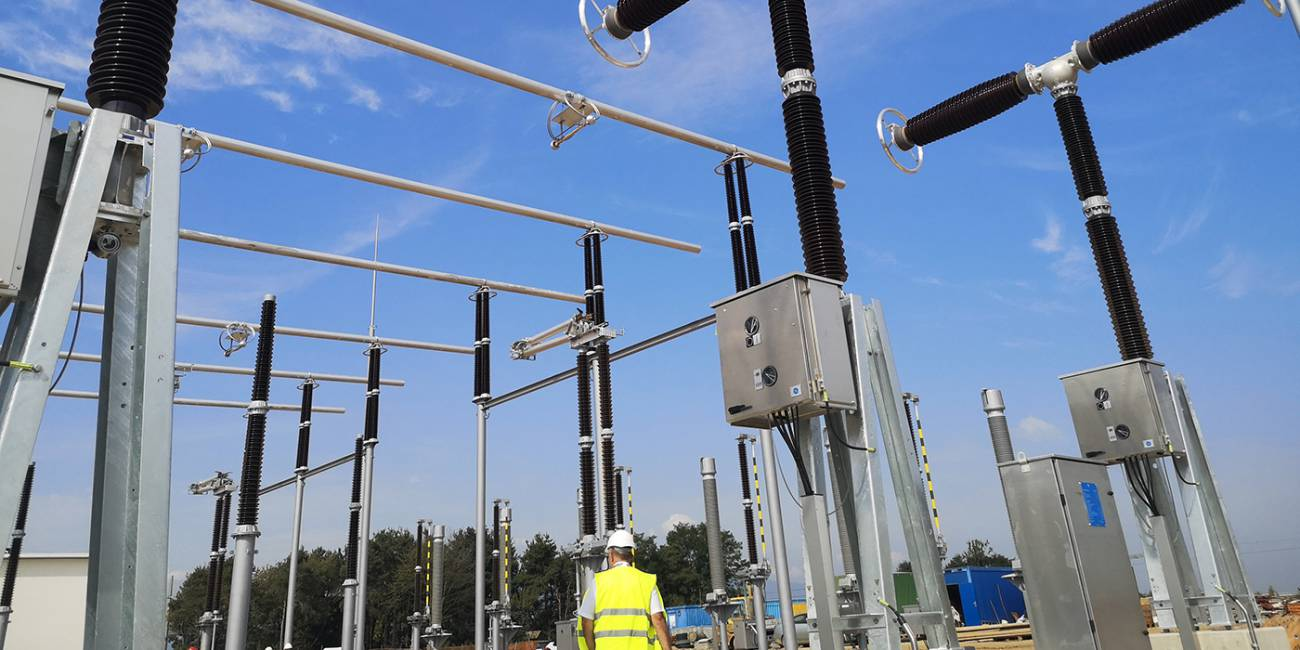 Distribution transformer substation Ivančna Gorica