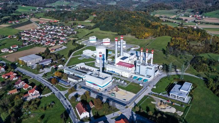 Thermal power plant in Brestanica