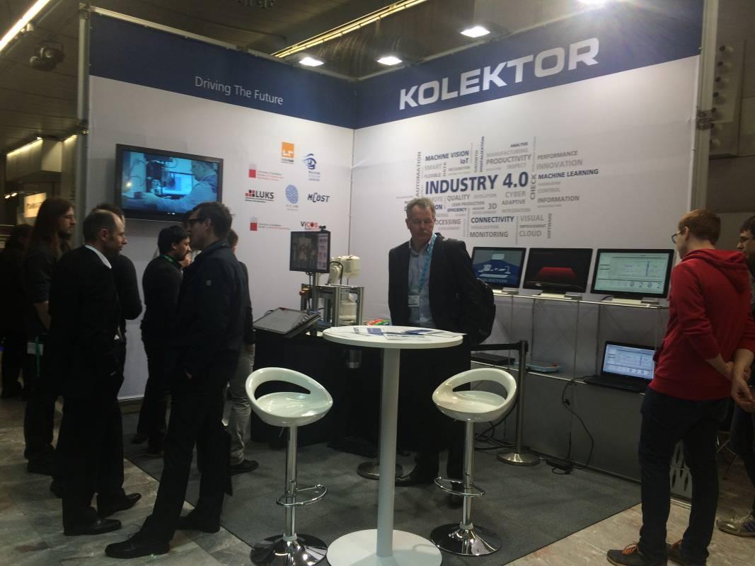 Kolektor se predstavlja na Evropskem forumu robotike 2016