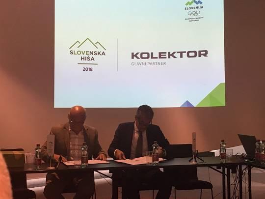 Koncern Kolektor je glavni partner slovenske hiše na zimskih olimpijskih igrah 2018