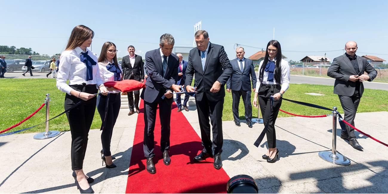 Kolektor v Srbcu odprl novo proizvodno halo