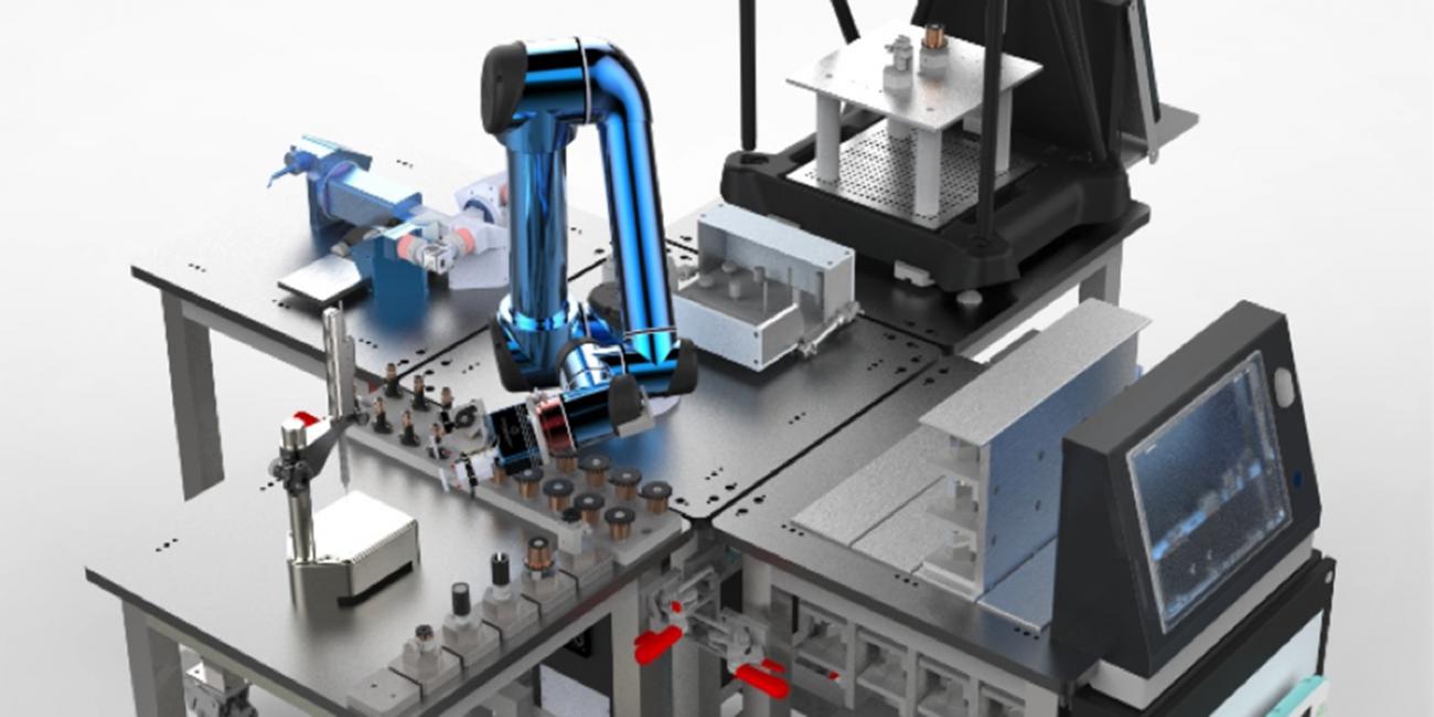 Razvoj adaptivne robotske celice postregel s številnimi tehnološkimi dosežki