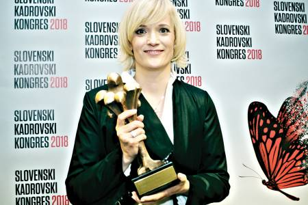 Eva Cvelbar Primožič is the Personnel Manager of the Year