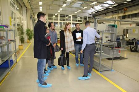 Kolektor visited by attendants of the Business Summer School