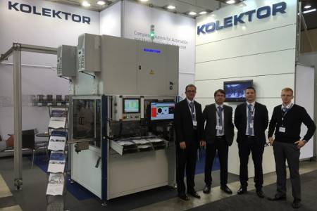 Kolektor participating in the Motek fair in Stuttgart