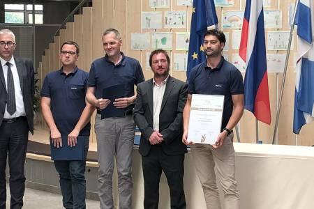 Kolektor ATP za inovacijo prejel zlato priznanje v regiji