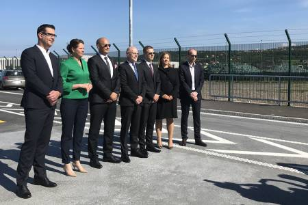 After 60 years two entrances for trucks into the Port of Koper