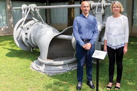 Kolektor Turbinštitut in Tehniški muzej Slovenija podpisala donatorsko pogodbo