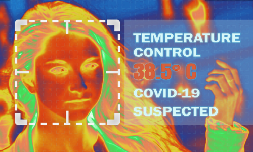 Sistem za merjenje telesne temperature